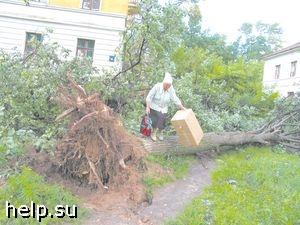 Ураган в Ставропольском крае