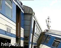 В Амурской области с рельсов сошел поезд