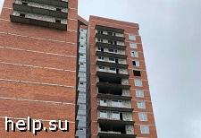 В Перми на улице Теплогорской достроят два проблемных дома