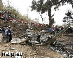 Крушение вертолета на Алтае: 8 человек погибли