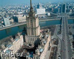 """Обрушилась одна из восьми башен гостиницы """"Украина"""""""