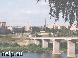 В Калуге обрушился мост