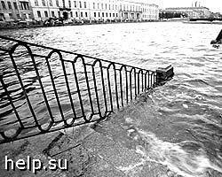 В Петербурге произошло уже второе наводнение за 2008 г.