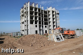 Под Волгоградом начали достраивать второй проблемный дом в ЖК «АхтубаСитиПарк»