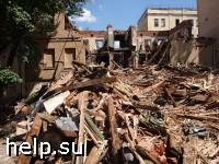 Строительный надзор приостановил работы в Большом Козихинском переулке