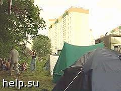 Ночь в Бутово прошла спокойно: дома остались на месте, жителей не осаждали