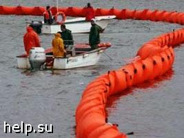 В Черном море обнаружено нефтяное пятно