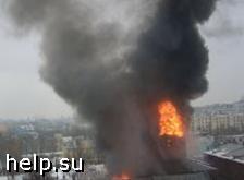 В центре Москвы сгорел ночной клуб «Дягилев», пострадало 2 человека