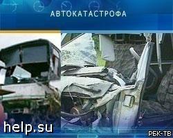 В Воронежской области перевернулся автобус