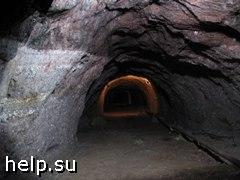 Пожар на заброшенной угольной шахте
