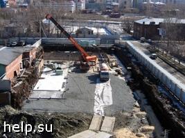 В Калининграде прокуратура требует остановить строительство домов в парковой зоне