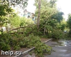 Ураган в Свердловской области оставил город Асбест без света и воды